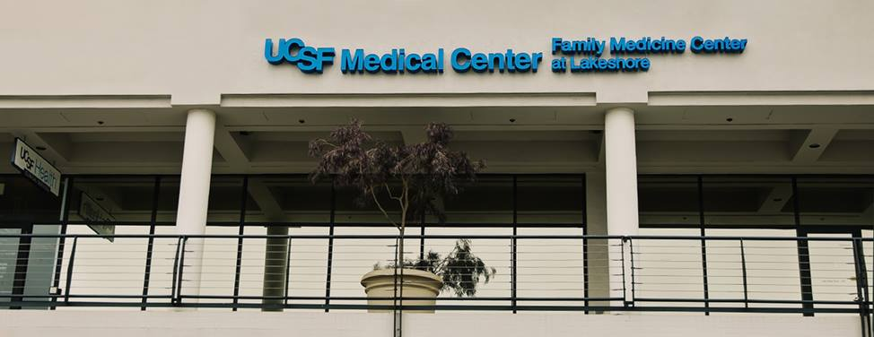 Clinics at UCSF Lakeshore building